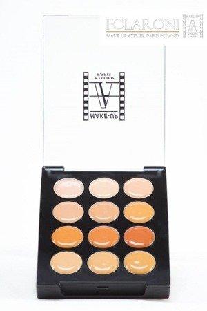 Paleta 12 kremowych korektorów 11 g -  Palette 12 Cream Concealers