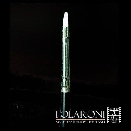 Pędzel biały nylon - Folaroni